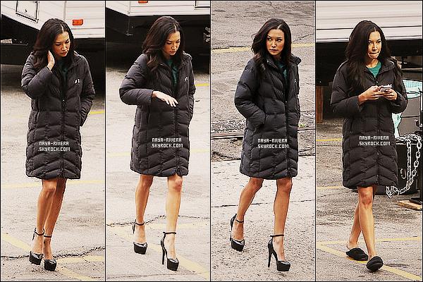 * 15/11/13 : Naya  a été vu sur le tournage de la série     Glee dans une tenue très décontracté  situé  a  Los Angeles. *
