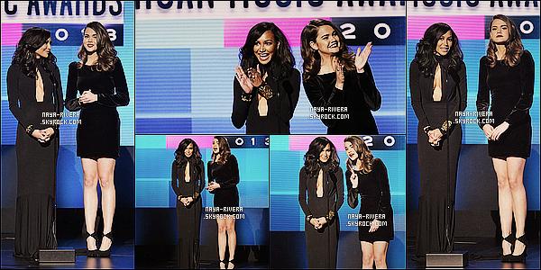 * 24/11/13 : Naya  était présente au      American Music Awards ou elle a notamment présenté   a  Los Angeles. *