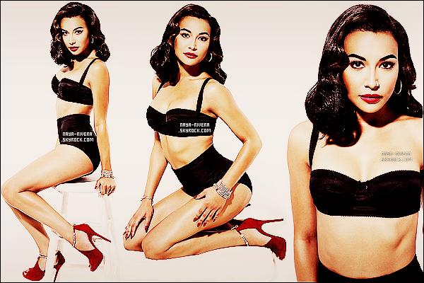 *  Découvrez des maintenant un nouveau photoshoot    de la belle Naya Rivera. *