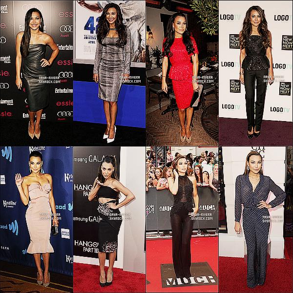 *  Au cours de cette année 2013,    Naya  nous a montré c'est plus belle tenue. Quelle est celle que tu préfères. *