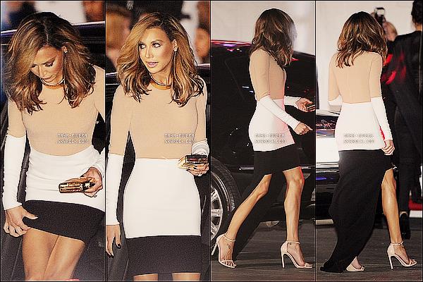 * 08/01/14 : Naya  a été aperçu près de sa voiture pour se rendre au    People's Choice Awards     a  Los Angeles. *