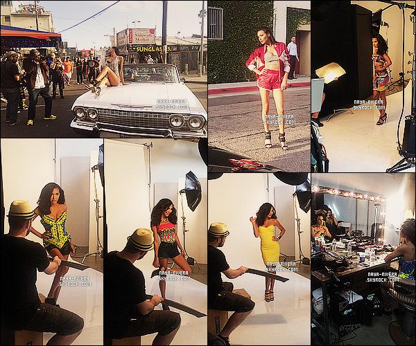 *  Decouvrez l'arrière decors de la séance photo de  Naya  pour le magazine  Cosmopolitan for Latina. *