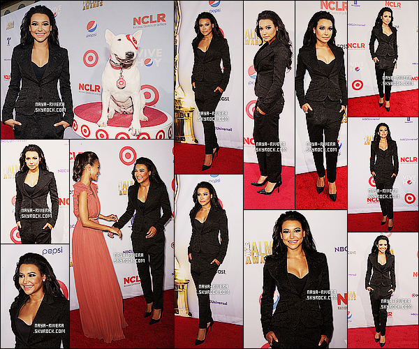 * 16/12/12 : Naya   assistait a la cérémonie de 2012 des     American Latino Media Arts Awards     a  Los Angeles. *