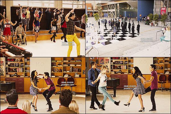*  Nouvelle photos promotionnelle de  l'épisode  12  de la saison 5  de Glee. *