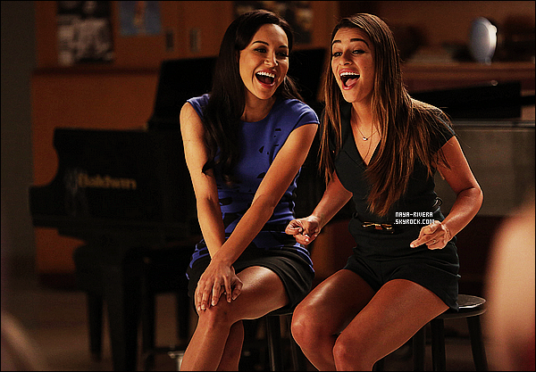 *  Nouvelle photos promotionnelle de  l'épisode  13  de la saison 5  de Glee. *