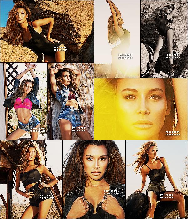 *  Naya fait la couverture et a également réalisé un photoshoot       pour le magazine américan Galore. *
