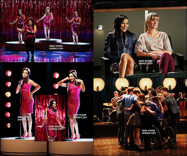 *    Découvrez Naya dans deux stills de l'épisode 06x06  What The World Needs Now de   Glee.  *