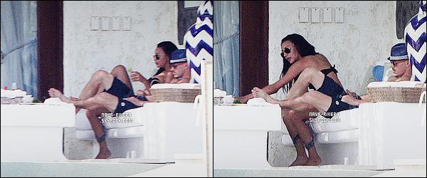 * 20/07/14 : Naya  a été aperçu en pleine  tranquillité en compagnie de Ryan Dorsey  a Cabo   au  Mexique. *