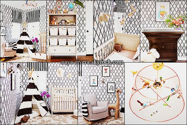 *    Découvrez le photoshoot de la chambre de l'enfant de Naya réalisé par  My Domaine.  *