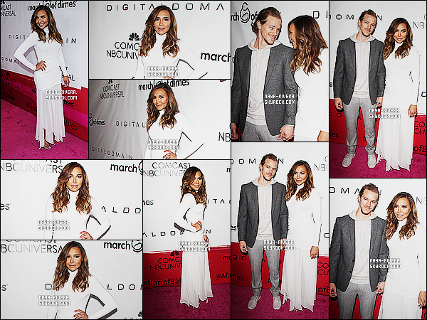 *     04/12/15 : NAYA ETAIT PRESENTE LORS DU MARCH OF DIMES CELEBRATION A LOS ANGELES.    *