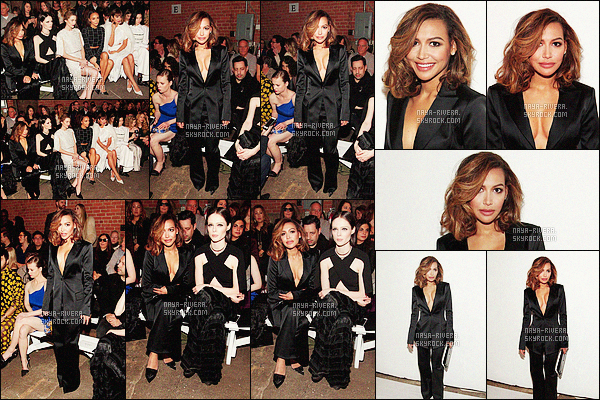 *     13/02/16 : NAYA ETAIT PRESENTE LORS DE LA FASHION WEEK A NEW YORK CITY.    *