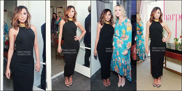 *     22/04/16 : NAYA ETAIT PRESENTE AU HARPER'S BAZAAR MAY ISSUE EVENT A LOS ANGELES.    *