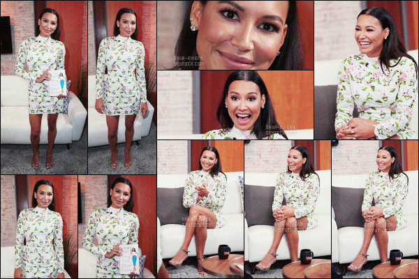 * 16/09/16 : NAYA R. A ETE SUR LE PLATEAU DE L'EMISSION TODAY LIVE DANS WEST HOLLYWOOD.  *