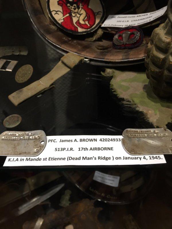 Musee 101 eme a bastogne