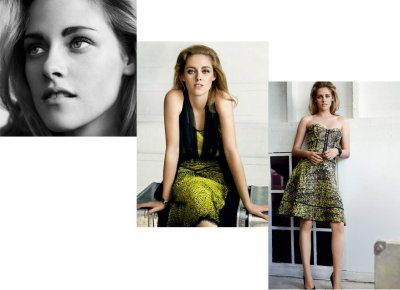 Photos inédites de Kristen Stewart dans Vogue : trop de Photoshop  ??