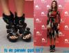 """2/09 Jessica Alba : Drôles de shoes au Festival de Venise !  Jessica Alba présentait """"Machete"""", le film dans lequel elle joue aux côtés de Lindsay Lohan, au Festival du film de Venise, hier. Pour le photocall, elle a choisi une robe fleurie mais des shoes pas très assorties. Vous aimez son look ?"""