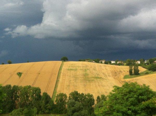 Encore de jolis paysages malgré les orages.............;-)