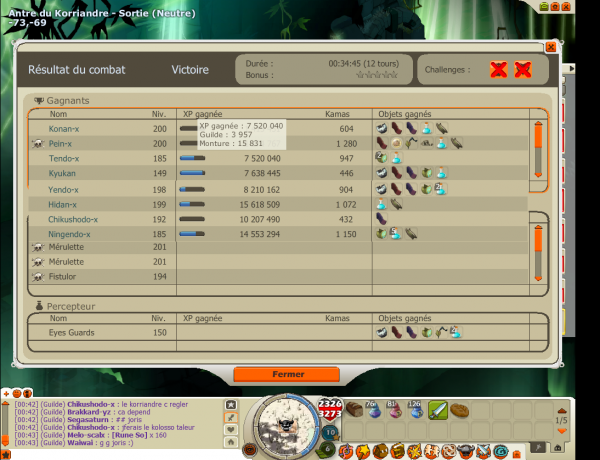 Premiers Frigost avec ma team :)
