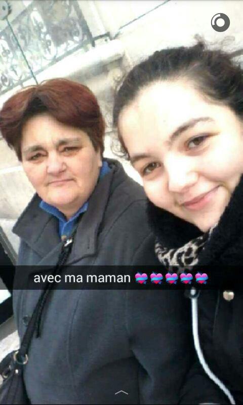 moi et ma maman que j'aime