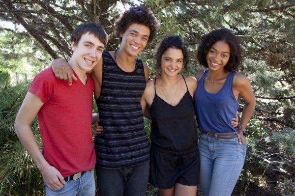Kevin, Baptiste, Emma et Thérèse