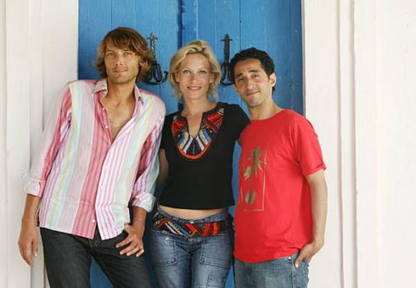 Thomas, Céline et Malik