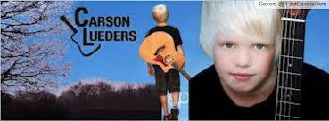 carson lueders et sa guitare