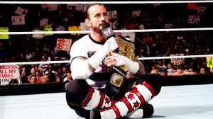 cm punk le champion de la wwe