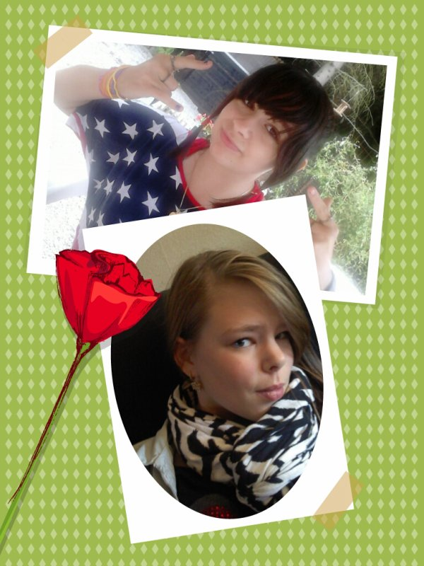 piti montage de mon ange et moi ( c est le surnom de ma meilleure amie Cynthia )