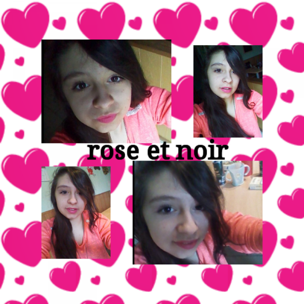 rose et noir ^^