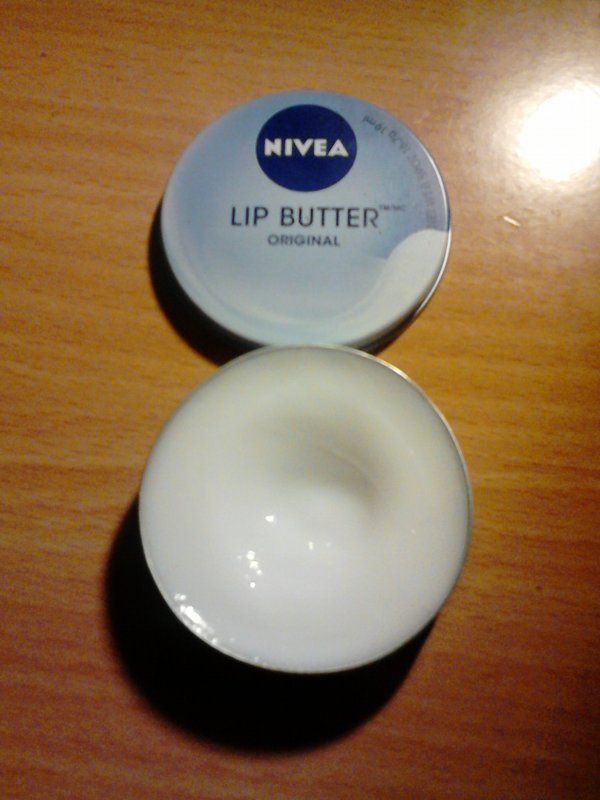 NIVEA : LIP BUTTER !!!