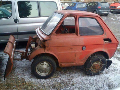 il neige sortez votre chasse neige hihi