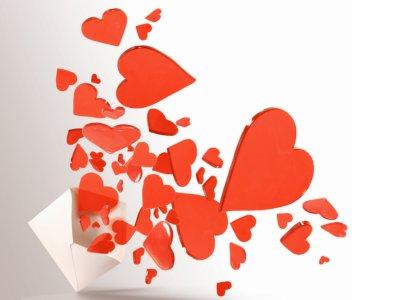 lettre pleine d'amour