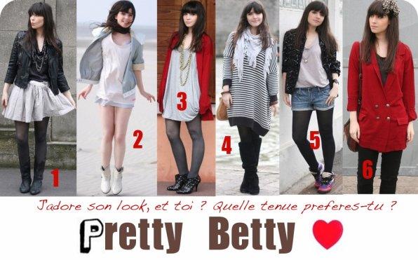 . . P r e t t y . . B e t t y . . ♥  Betty , une fille comme les autres, mais qui a un look que j'adore vraiment !