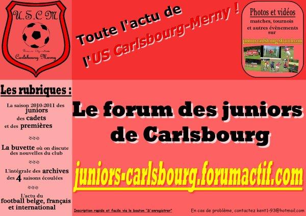 Le forum des juniors de Carlsbourg