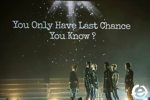 One Chance, One Last Chance..