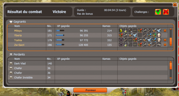 Drop des Dofus emeraude :)