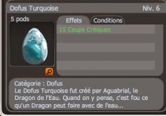 Drop Dofus turquoise + Bonus
