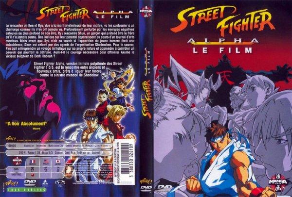 derniere aquisition : Street Fighter Alpha Le Film