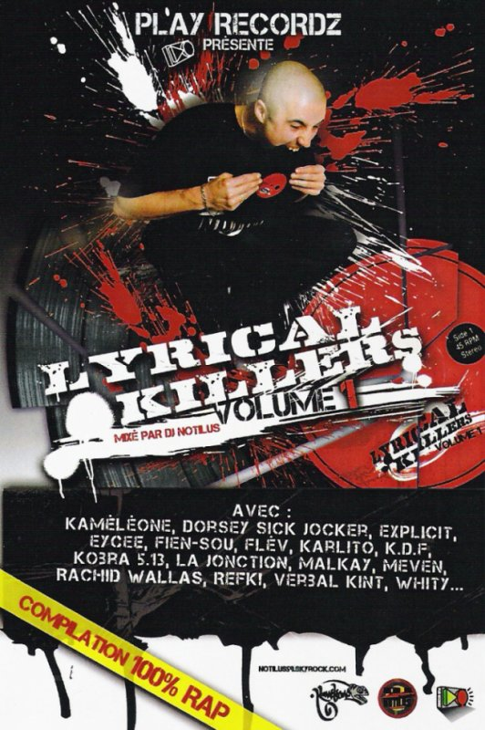 Mixtape Lyrical Killers Vol 1 Dj Notilus