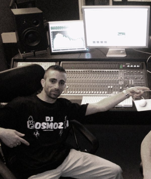 Dj Osmoz en studio (2009)