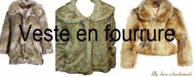 Les vestes en fourrures