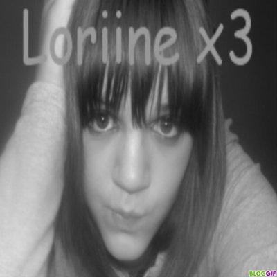 lLaurine , Tes une fille pas comme les autre (aa) ♥