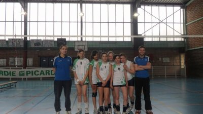 equipe nord de volley