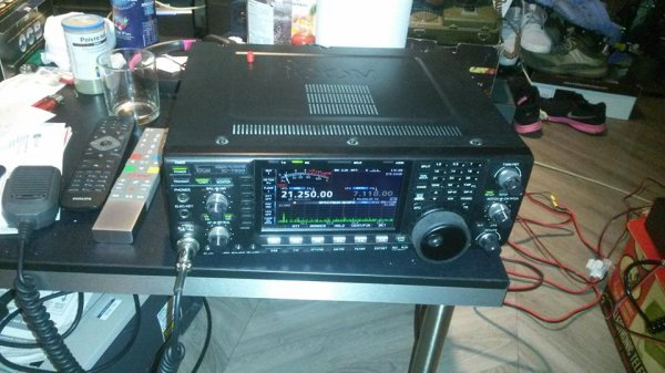 ICOM IC7600 + BOITE ACCORD RANGER + ANTENNE SKYPPER