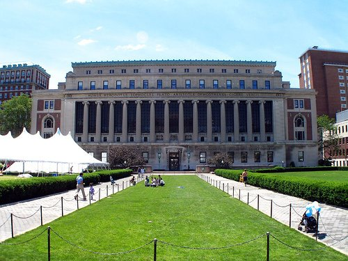 Bienvenue à Columbia University in the City of New York