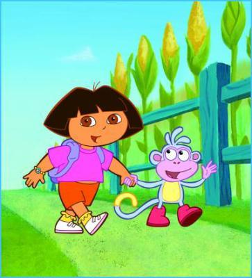 Un ptit dessin animé ? ( Dora l'exploratrice , Franklin (2) )