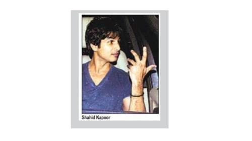 Shahid Kapoor à la Fête d'Anniversaire de Karan Johar
