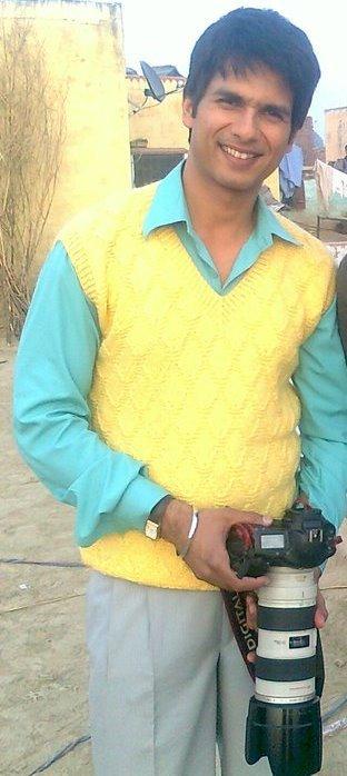 Shahid Kapoor sur le Tournage de Mausam
