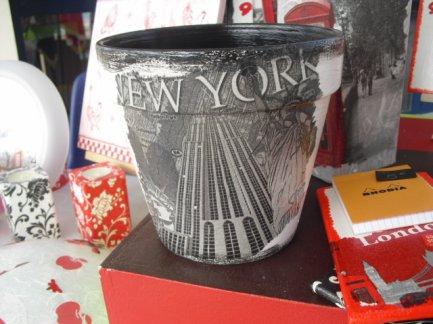 Pot de fleur NEW YORK