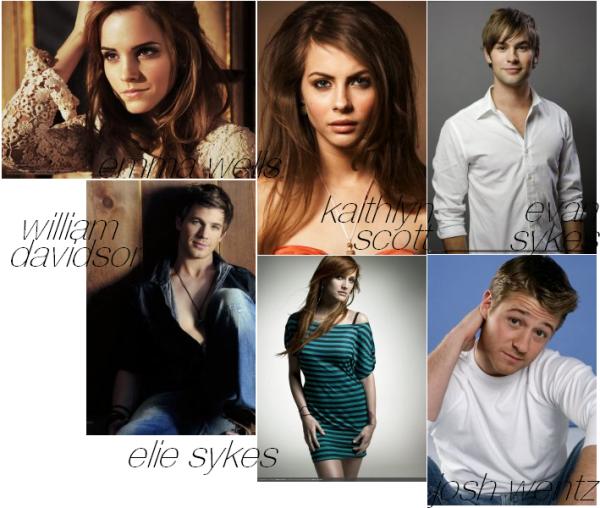 personnages principaux